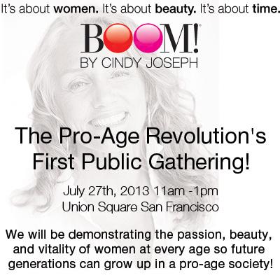 Cindy Joseph Pro Age Demonstration