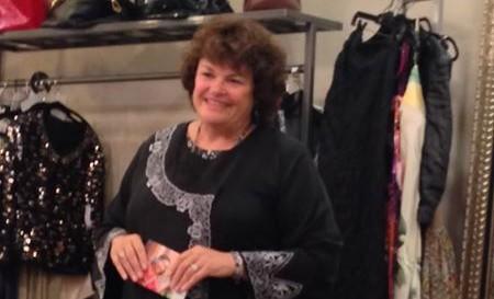 Angela Mason at Womens Salon
