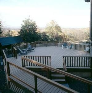 Lifebridge mountain view deck