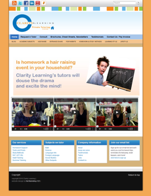 Clarity Learning Website 306x396