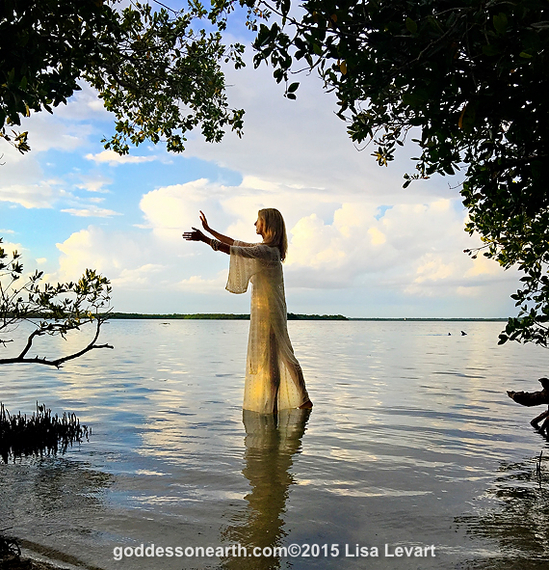 White Tara - Dianne Gray by Lisa Levart