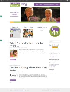 Roommates4Boomers Home Page