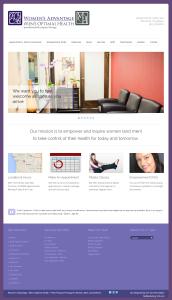Women's Advantage Home Page