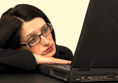 sad woman at computer - source venturebeat