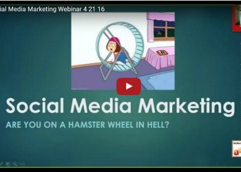 social media webinar screenshot