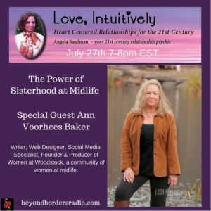 Ann Voorhees Baker on Love, Intuitively radio.