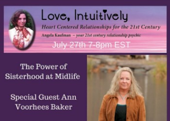Ann Voorhees Baker on Love Intuitively Radio
