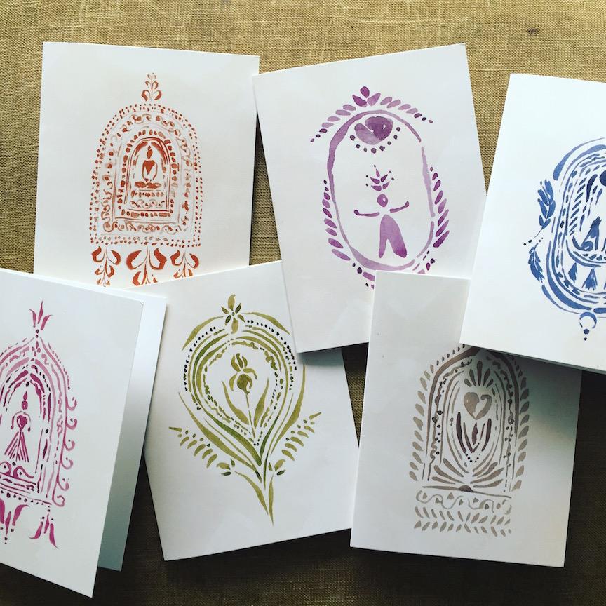 Untold Imprint Altar cards