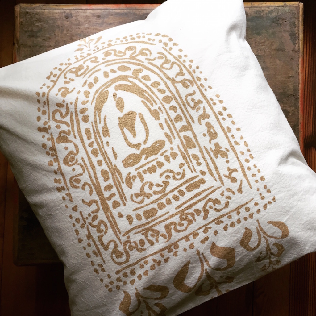 Untold Imprint Buddha Altar Pillow