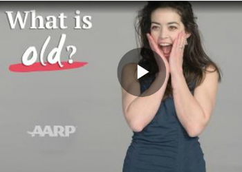 What is Old AARP video