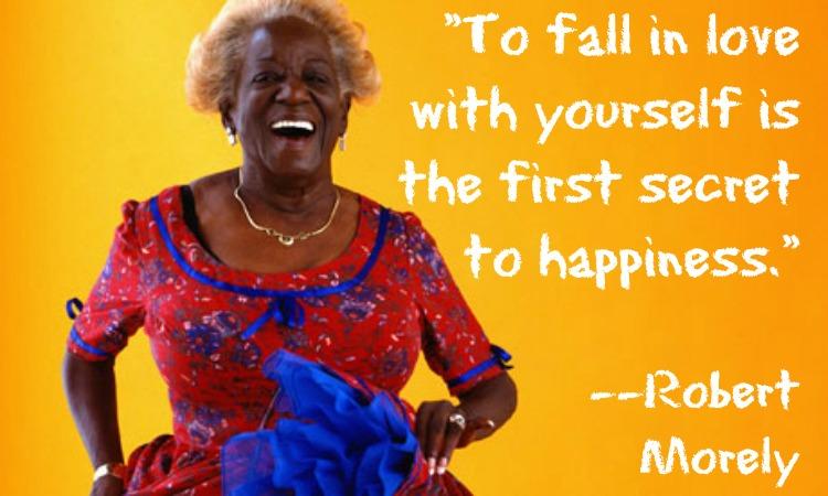 meme-laughing older black woman