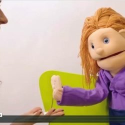 Nancy Shenker puppet business video