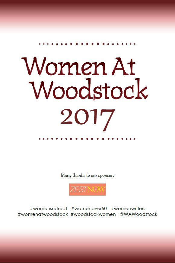 Women At Woodstock 2017 signage