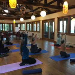 yoga at women at woodstock