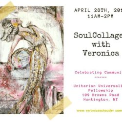 soulcollage workshop flyer