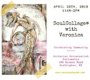 soulcollage workshop flyer