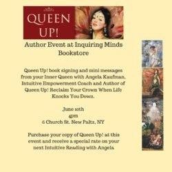 Angela Kaufman Queen Up! book signing