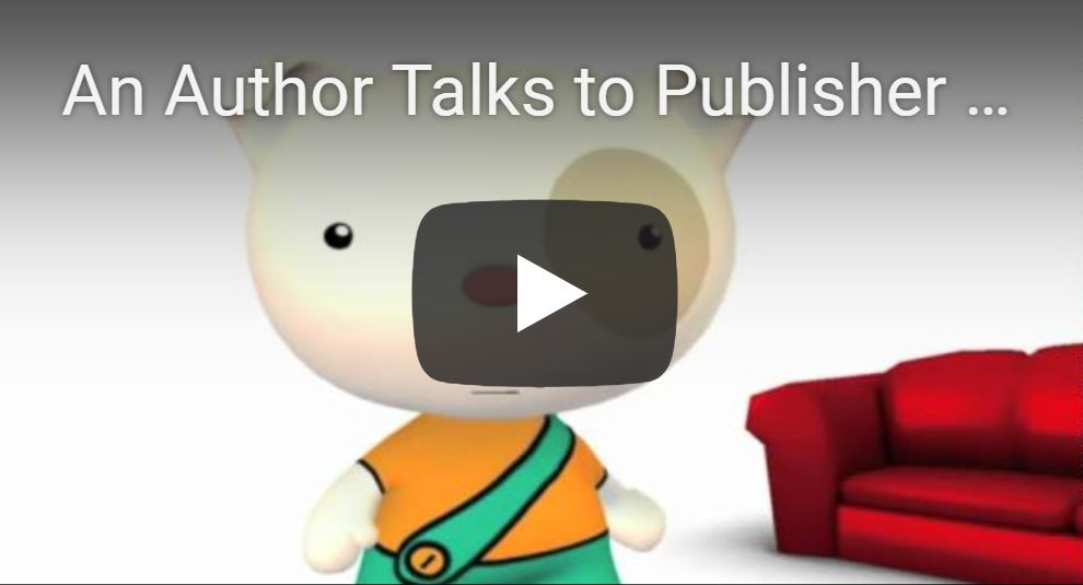 author talks to publisher video