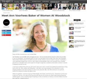 VoyageLA Magazine article on Ann V Baker