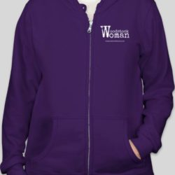 woodstock woman hoodie full-zip