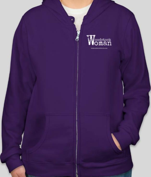 woodstock woman hoodie full-zip