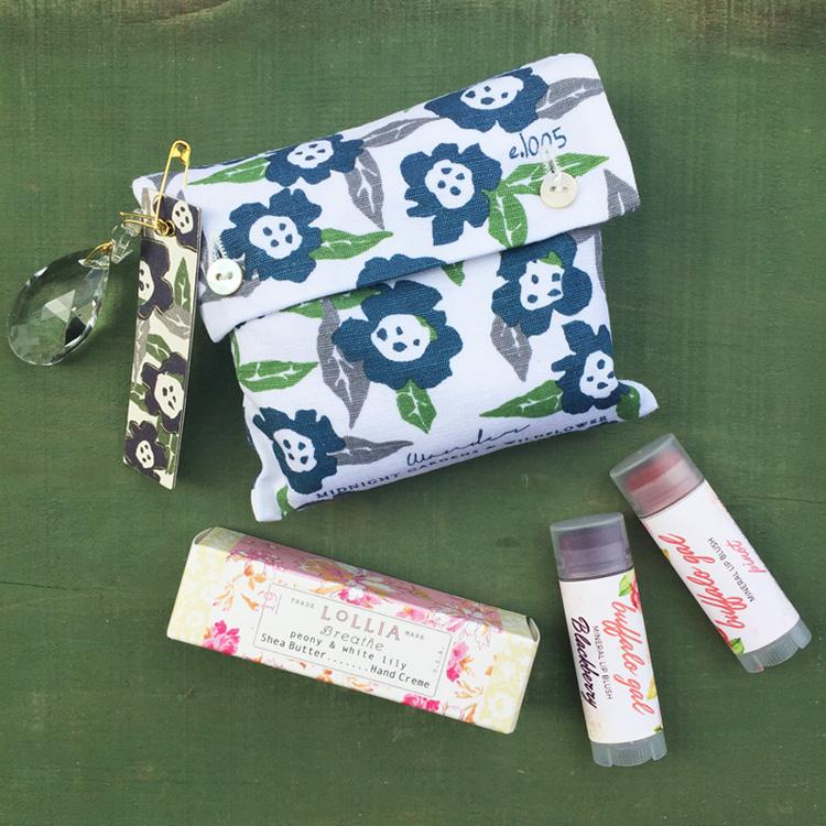 soaps, lip balm, essence