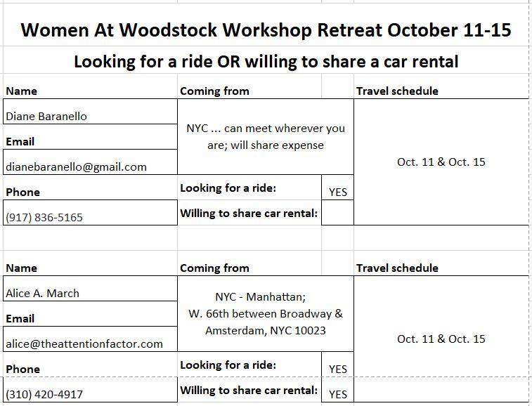 Ride Share Board WAW need