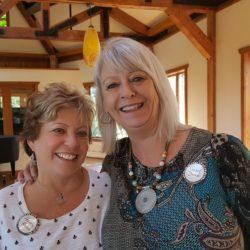 Helen Rosen and Susan Smith, Women At Woodstock 2018