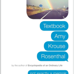 "cover of ""Textbook"" by Amy Krouse Rosenthal"