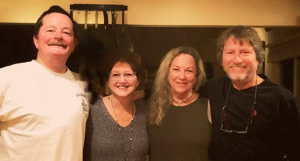 Brad Baker, Janet Riccobono, Ann Voorhees Baker, Rob Shannon