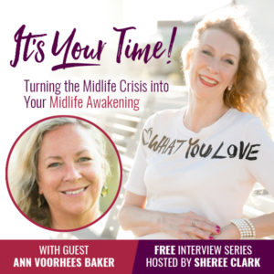 Ann Baker on Sheree Clark podcast
